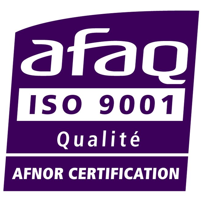 CD Plast certification ISO 9001 qualité
