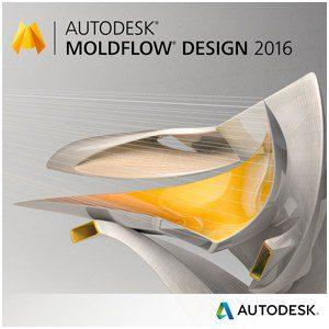Logo logiciel Autodesk Moldflow design 2016, logiciel de simulation Moldflow utilisé par le bureau d'études CD Plast