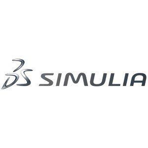 Logo logiciel Simulia, logiciel de calcul de structure utilisé par le bureau d'études CD Plast