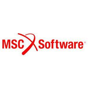 Logo logiciel MSC Software, logiciel de calcul de structure utilisé par le bureau d'études CD Plast