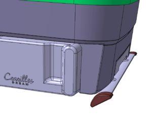Modélisation 3D produit puériculture Canailles Dream réalisé par CD Plast Engineering, bureau d'étude technique spécialiste de la conception de produit plastique.